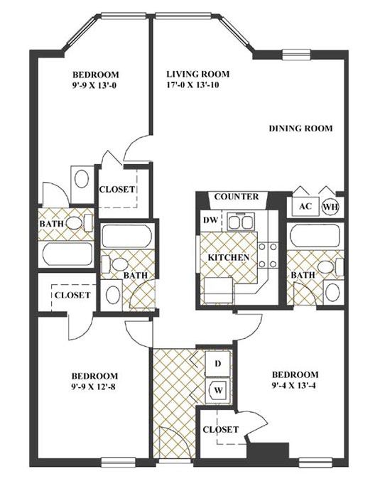 Apartment Building Floor Plans House Design